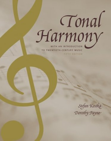 Tonal Harmony  5th 2004 (Revised) edition cover