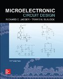 Microelectronic Circuit Design:   2015 edition cover