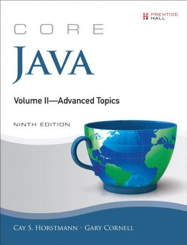 Core Java Advanced Topics 9th 2013 (Revised) edition cover
