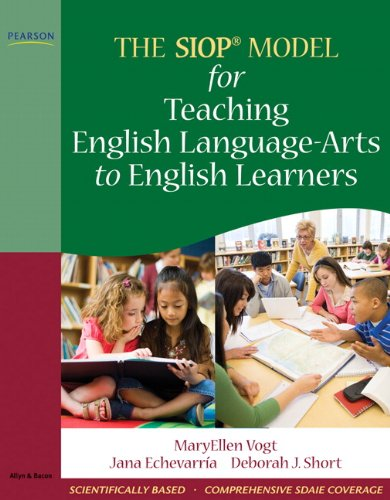 SIOP Model for Teaching English Language-Arts to English Learners   2010 9780205627608 Front Cover