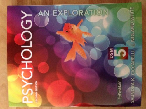 Psychology An Exploration with DSM-5 Update 2nd 2014 edition cover