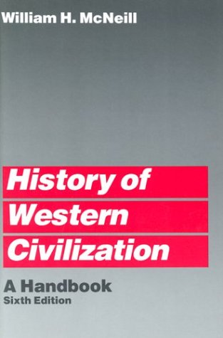 History of Western Civilization A Handbook 6th 1986 edition cover