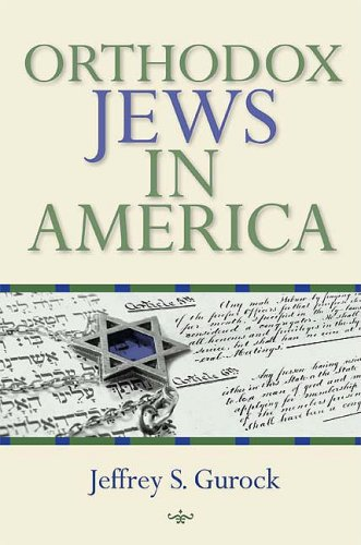 Orthodox Jews in America   2009 9780253220608 Front Cover