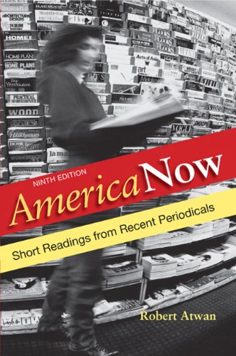 America Now Short Readings from Recent Periodicals 9th 2011 edition cover