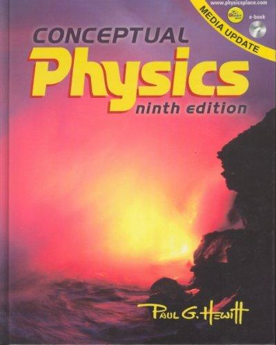Conceptual Physics 9th 2002 edition cover