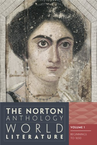 Norton Anthology of World Literature  3rd 9780393919608 Front Cover