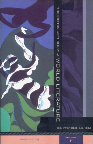 Norton Anthology of World Literature The Twentieth Century 2nd 2001 edition cover