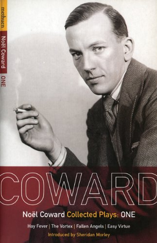 Noel Coward Collected Plays Hay Fever; the Vortex; Fallen Angels; Easy Virtue  1999 edition cover