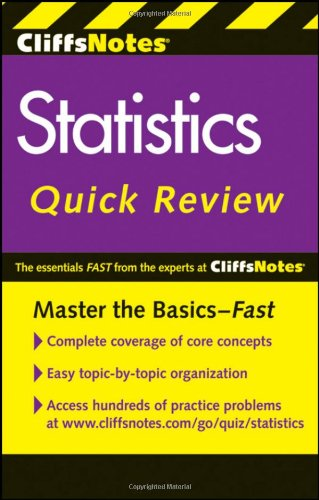 Statistics Quick Review  2nd 2011 edition cover