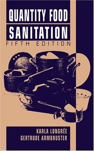 Quantity Food Sanitation  5th 1996 (Revised) edition cover