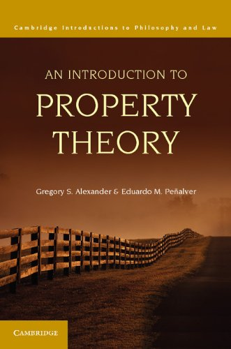 Introduction to Property Theory   2012 edition cover