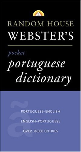 Random House Webster's Pocket Portuguese Dictionary  Large Type edition cover