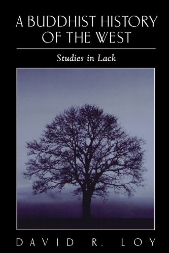 Buddhist History of the West Studies in Lack  2002 edition cover