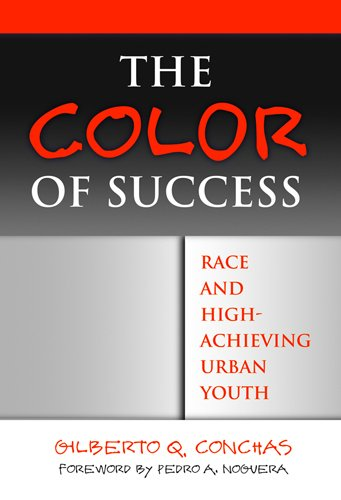 Color of Success Race and High-Achieving Urban Youth  2006 9780807746608 Front Cover