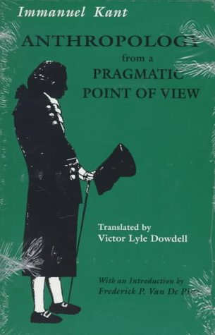 Anthropology from a Pragmatic Point of View   1996 edition cover
