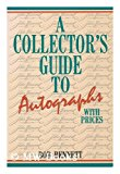 Collector's Guide to Autographs with Prices N/A 9780870694608 Front Cover