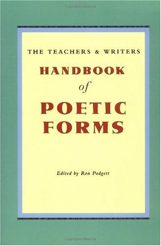 Handbook of Poetic Forms 2nd 2000 edition cover