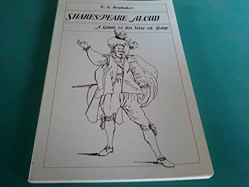 Shakespeare Aloud : A Guide to His Verse on Stage 1st edition cover