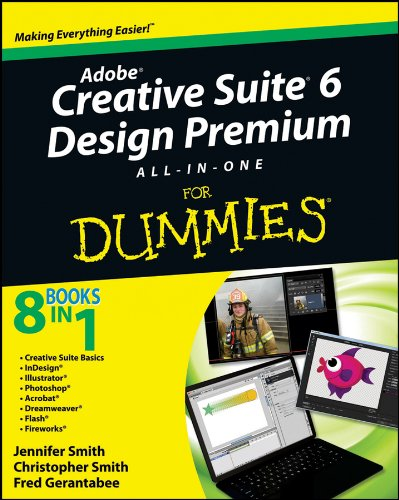 Adobe Creative Suite 6 Design and Web Premium All-in-One for Dummies   2012 edition cover