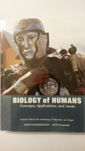 BIOLOGY OF HUMANS >CUSTOM<              N/A 9781269130608 Front Cover