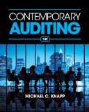 Contemporary Auditing  10th 2015 edition cover