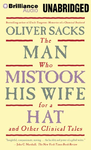 The Man Who Mistook His Wife for a Hat: And Other Clinical Tales  2012 edition cover
