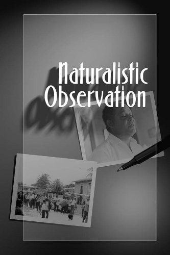 Naturalistic Observation   2007 edition cover
