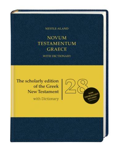Novum Testamentum Graece-FL  N/A edition cover
