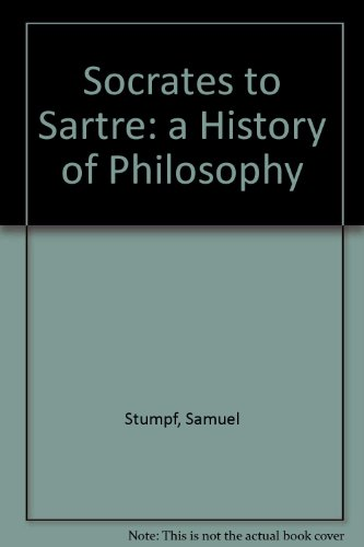 Socrates to Sartre  6th 1999 (Student Manual, Study Guide, etc.) edition cover