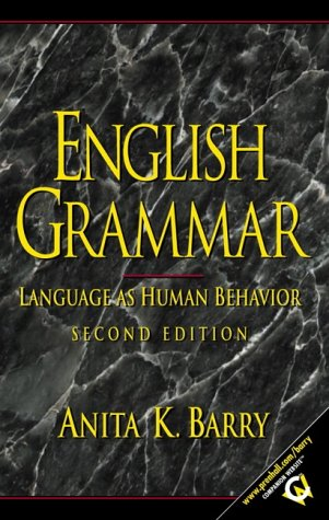 English Grammar Language as Human Behavior 2nd 2002 edition cover