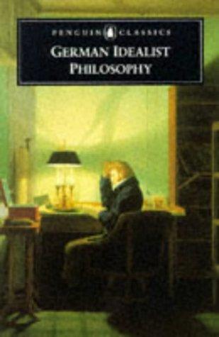 German Idealist Philosophy   1997 (Reprint) edition cover