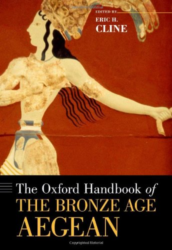 Oxford Handbook of the Bronze Age Aegean   2012 edition cover