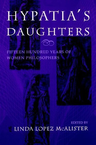 Hypatia's Daughters 1500 Years of Women Philosophers  1996 edition cover