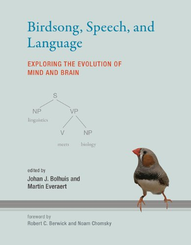 Birdsong, Speech, and Language Exploring the Evolution of Mind and Brain  2013 9780262018609 Front Cover