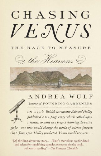 Chasing Venus The Race to Measure the Heavens N/A 9780307744609 Front Cover
