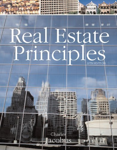 Real Estate Principles  10th 2006 (Revised) 9780324305609 Front Cover