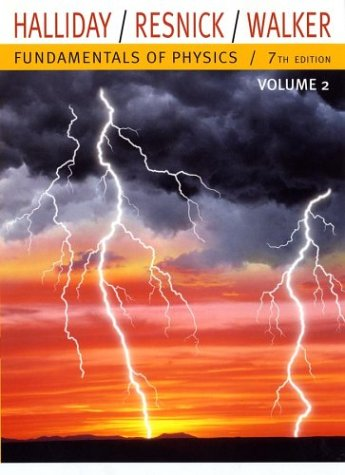 Fundamentals of Physics Chapters 21-44 7th 2005 (Revised) edition cover