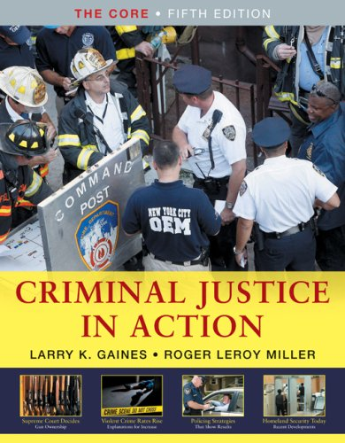 Criminal Justice in Action The Core 5th 2010 edition cover