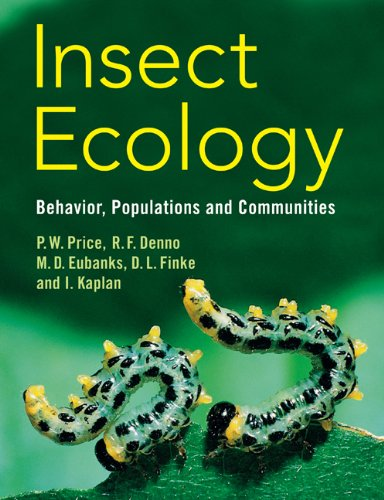 Insect Ecology Behavior, Populations and Communities  2011 edition cover