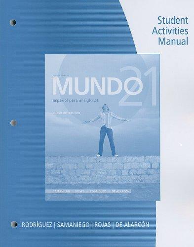 Mundo 21:  4th 2011 9780547171609 Front Cover