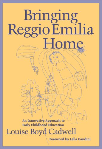 Bringing Reggio Emilia Home An Innovative Approach to Early Childhood Education  1997 edition cover