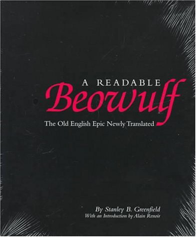 Readable Beowulf The Old English Epic Newly Translated N/A edition cover