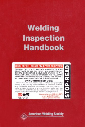 WIH, Welding Inspection Handbook, 2000 (Third Edition)  3rd 2000 edition cover