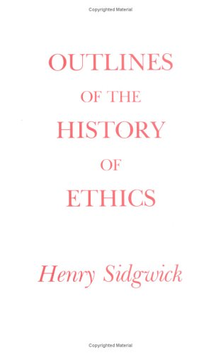 Outlines of the History of Ethics  5th (Reprint) edition cover