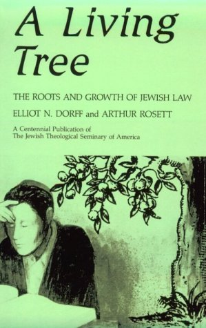 Living Tree The Roots and Growth of Jewish Law N/A 9780887064609 Front Cover