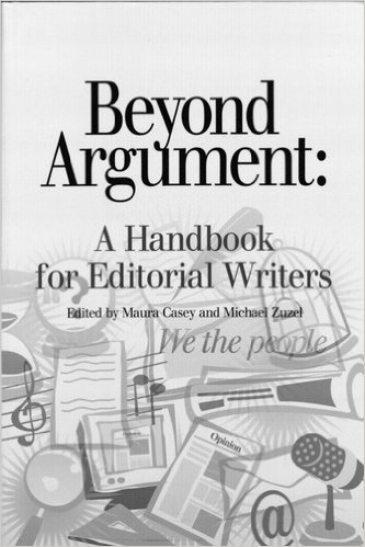 BEYOND ARGUMENT:HDBK.F/EDITORI 1st edition cover