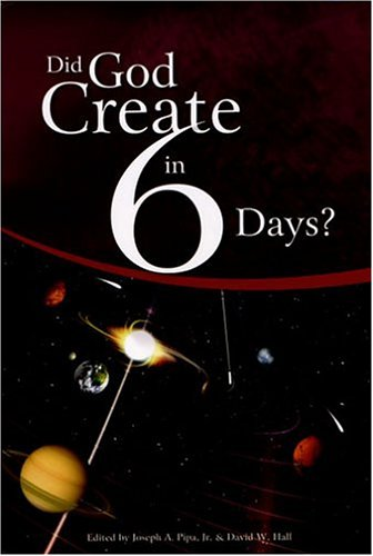 DID GOD CREATE IN 6 DAYS? 2nd 2005 9780975484609 Front Cover