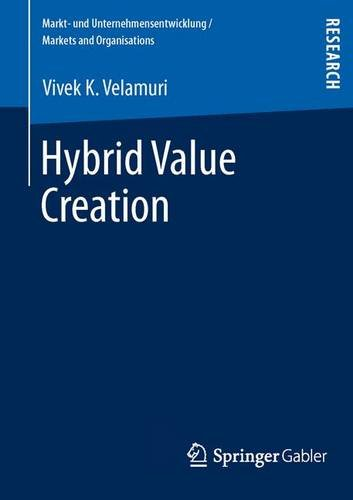 Hybrid Value Creation   2013 9783834939609 Front Cover