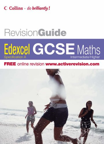 GCSE Edexcel Maths (Revision Guide) N/A edition cover