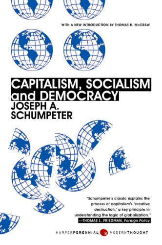 Capitalism, Socialism and Democracy  3rd edition cover